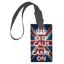 Keep Calm And Carry On (with Uni Luggage Tag