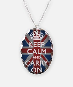 Keep Calm And Carry On (with U Necklace