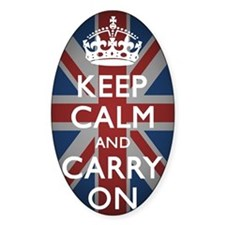Keep Calm And Carry On (with Union  Decal