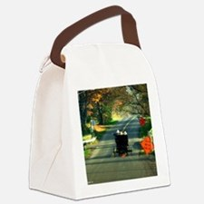 calendar road work Canvas Lunch Bag