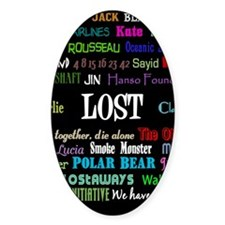 lostcollageipad Decal