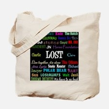 lostcollageipad Tote Bag