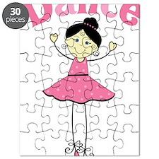 Dance Ballerina Puzzle