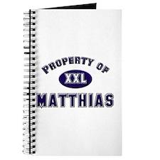 Property of matthias Journal
