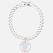 Kwanzaa Charm Bracelet, One Charm