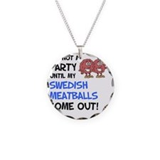 Party Until Swedish Meatball Necklace