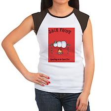 J-frost-fire-CRD Women's Cap Sleeve T-Shirt