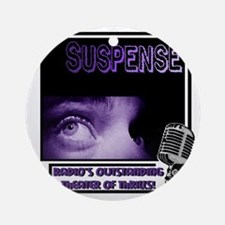 suspense Round Ornament