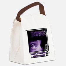 suspense Canvas Lunch Bag