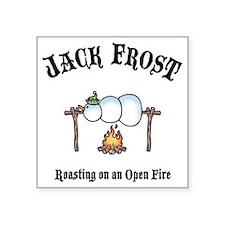 """J-frost-fire-LTT Square Sticker 3"""" x 3"""""""