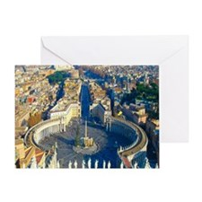 (sq) Rome-Piazza Greeting Card