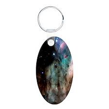 M17 The Omega Nebula iphone Keychains