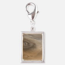 Olympus Mons, Mars Large Pos Silver Portrait Charm