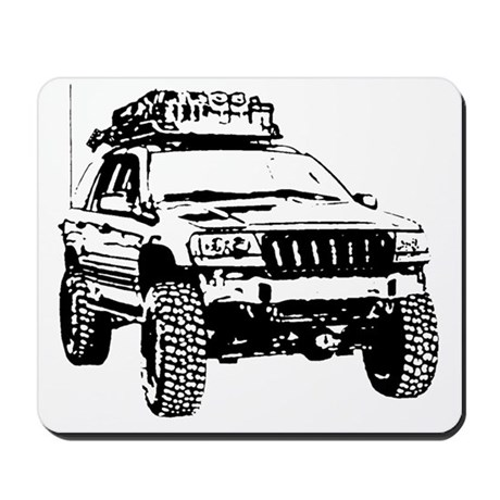 Jeep Grand Cherokee Expedition (WJ) Mousepad by Admin