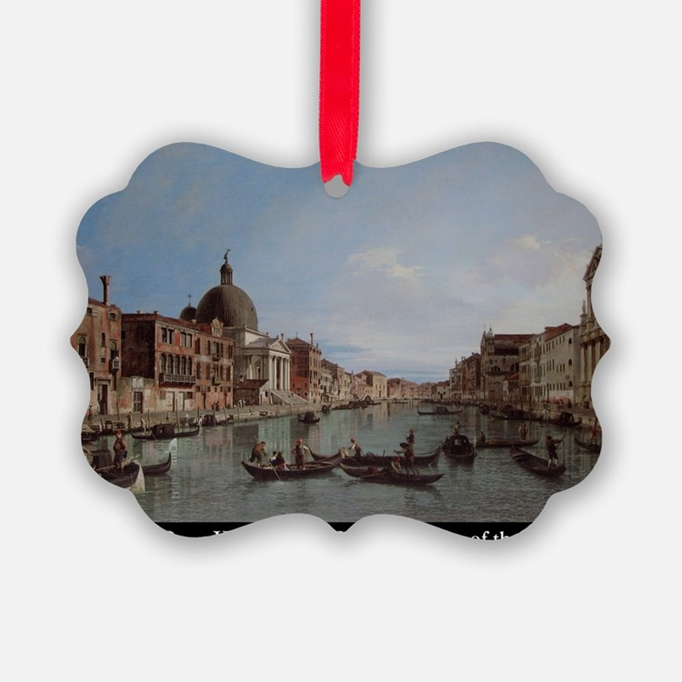 CanalettoPainting Ornament