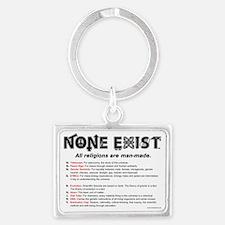 Calendar-Print-none-exist-expla Landscape Keychain