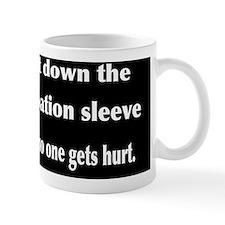palpation sleeve Mug