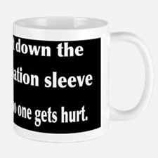 palpation sleeve Mug