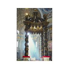 (half sheet) St Peters altar Rectangle Magnet
