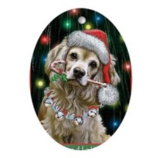 Cocker Spaniel Toby Oval Ornament
