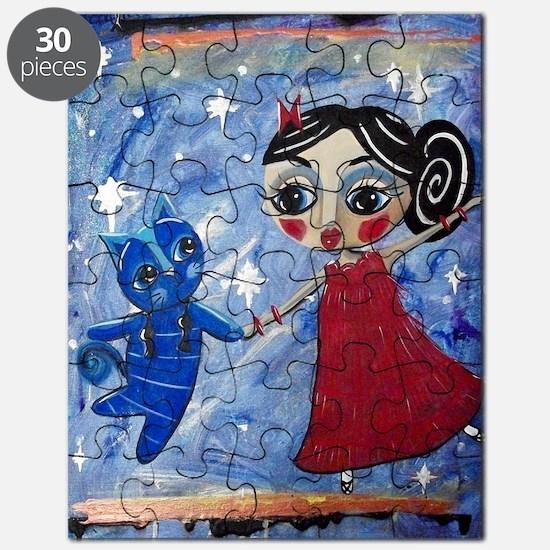 STAR POWER - LORALAI - Blue Cat Series Puzzle
