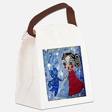 STAR POWER - LORALAI - Blue Cat S Canvas Lunch Bag