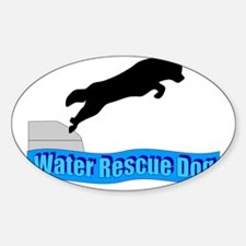 Water Rescue Dog Decal