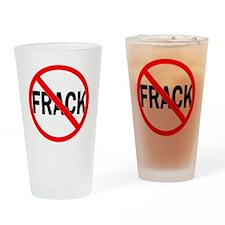 No_Frack Drinking Glass