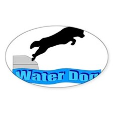 Water Dog Decal