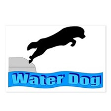 Water Dog Postcards (Package of 8)