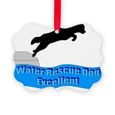 Water Rescue Dog Excellent Ornament