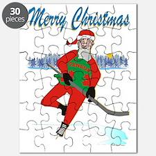 Hockey Santa Puzzle