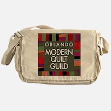 OMQGButtonLogo Messenger Bag