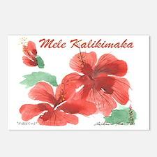 Hib02-XMas Postcards (Package of 8)