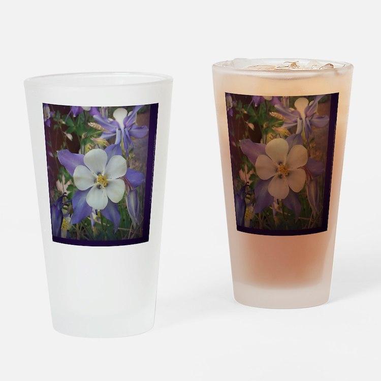 Columbines mp Drinking Glass