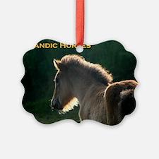 icehorsesbig Ornament