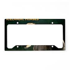 icehorsesbig License Plate Holder