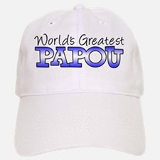 Worlds Greatest Papou Baseball Baseball Cap
