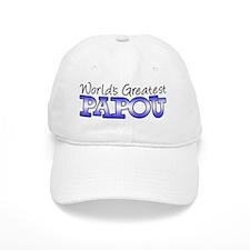 Worlds Greatest Papou Baseball Cap