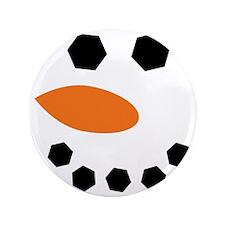 "Snowman 3.5"" Button"