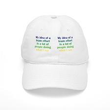 teameffort_mug2 Baseball Cap
