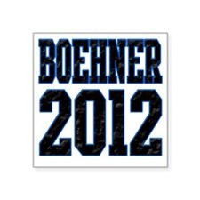 "Boehner 2012 Square Sticker 3"" x 3"""