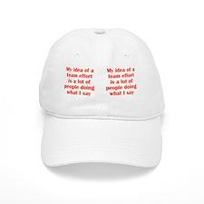 teameffort_mug3 Baseball Cap