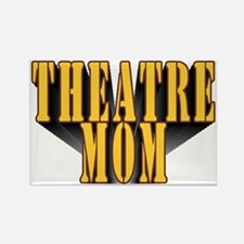 Theatre Mom Rectangle Magnet