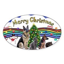 Xmas Music 1 - 2 dogs, 2 cats (Jenn Decal