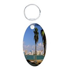 Palm Trees SarasotaFlorida3 Keychains