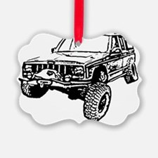 Cherokee Poser (XJ) Picture Ornament