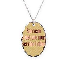sarcasmoffer_rnd3 Necklace