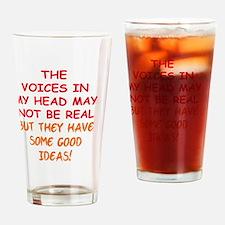 voicesinhead_rnd2 Drinking Glass