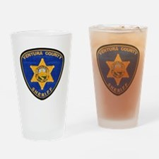 venturasheriff Drinking Glass